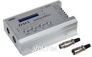 Контроллер DMX301 (12-24V, 8A/CH, LCD)