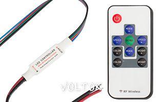 Контроллер LN-RF10B-MINI-Wires(5-24V,30-144W,10кн)