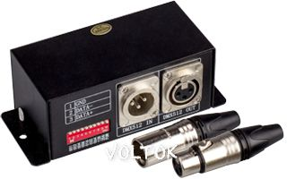 DMX-SPI декодер LW-2811 (12-24V, 170 pix)