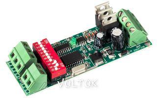 Декодер RA-DMX302 DIP (12-24V, 72-144W)