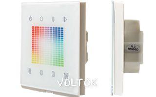 Панель Sens SR-2831S-RF-IN (12-24V,RGBW,DMX,1 зона