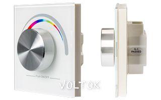Панель Rotary SR-2836-RGB White (3V,RGB,1зона)