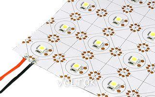 Лист LX-500 12V Cx1 Cool White (5050, 105 LED)