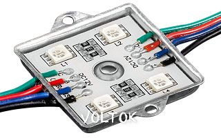 Модуль герметичный YL-AM5050-4 RGB 12V