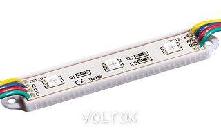 Модуль герметичный PGM5050-3 RGB 12V