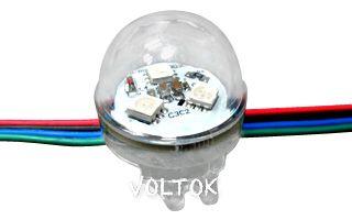 Флэш-модуль ARL-D30-3LED-2811 RGB 12V Прозрачный