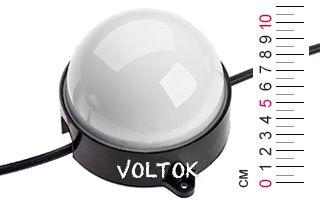 Модуль герметичный ARL-D100-5050x12-DMX RGB 24V Матовый
